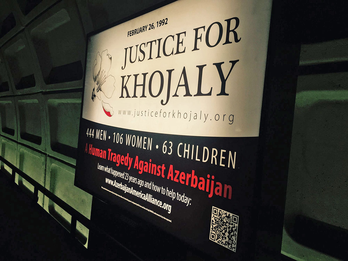 Azerbaijan America Alliance Khojaly Outdoor Art