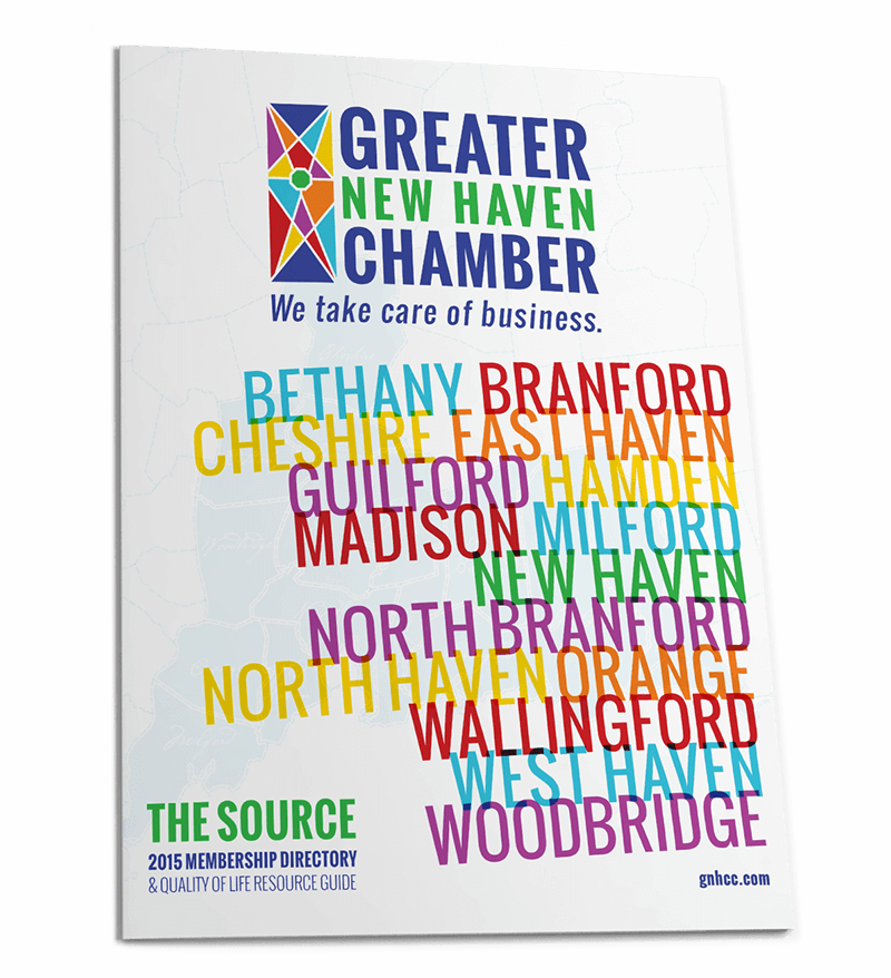 Greater New Haven Chamber Booklet Cover