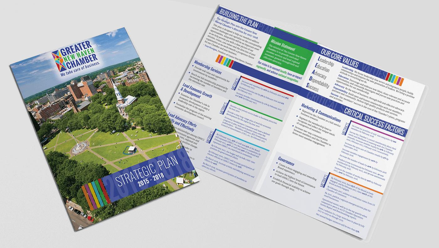 Greater New Haven Chamber Bi-fold Brochure