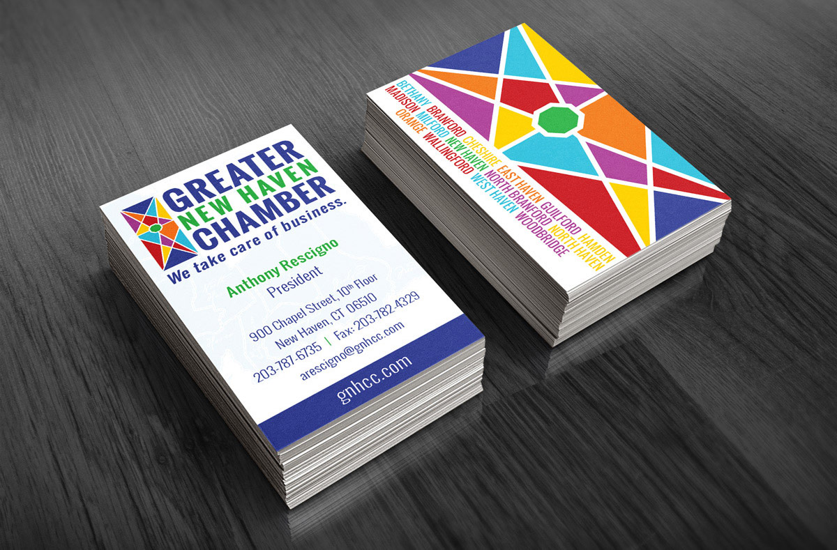 Greater New Haven Chamber Business Cards