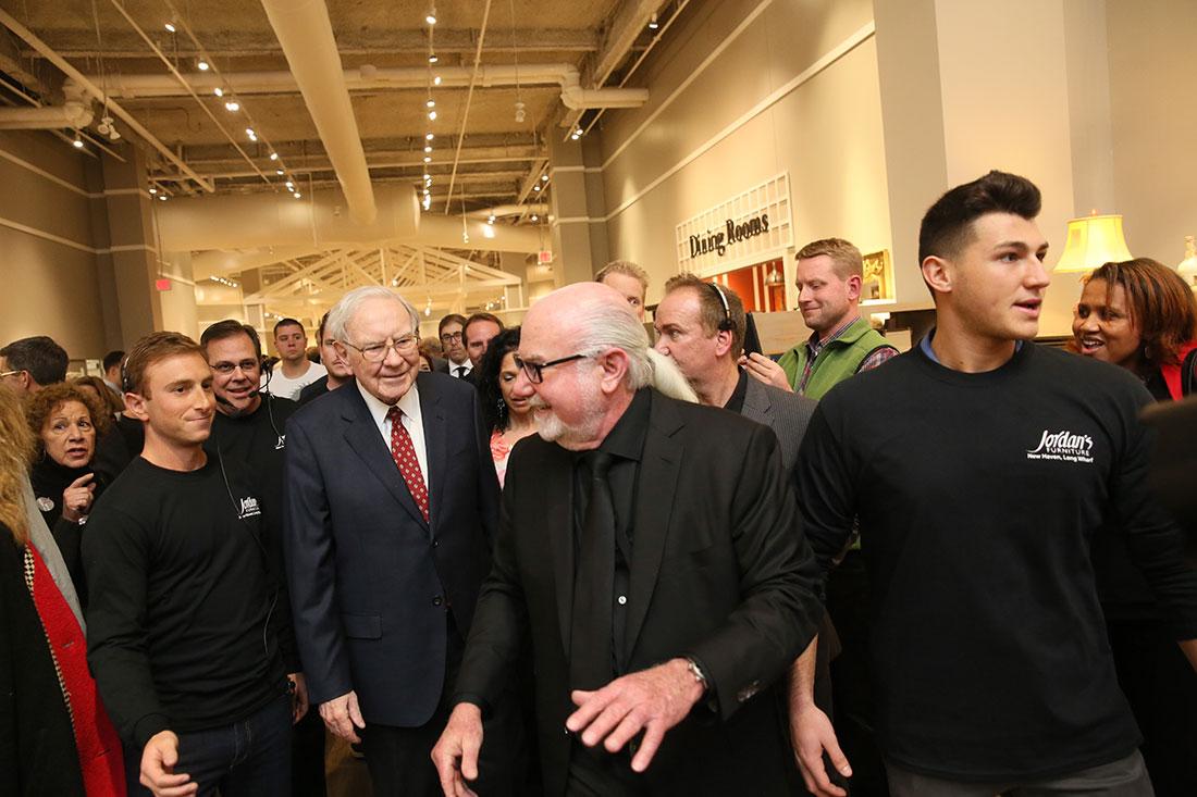 Jordan's Furniture Grand Opening