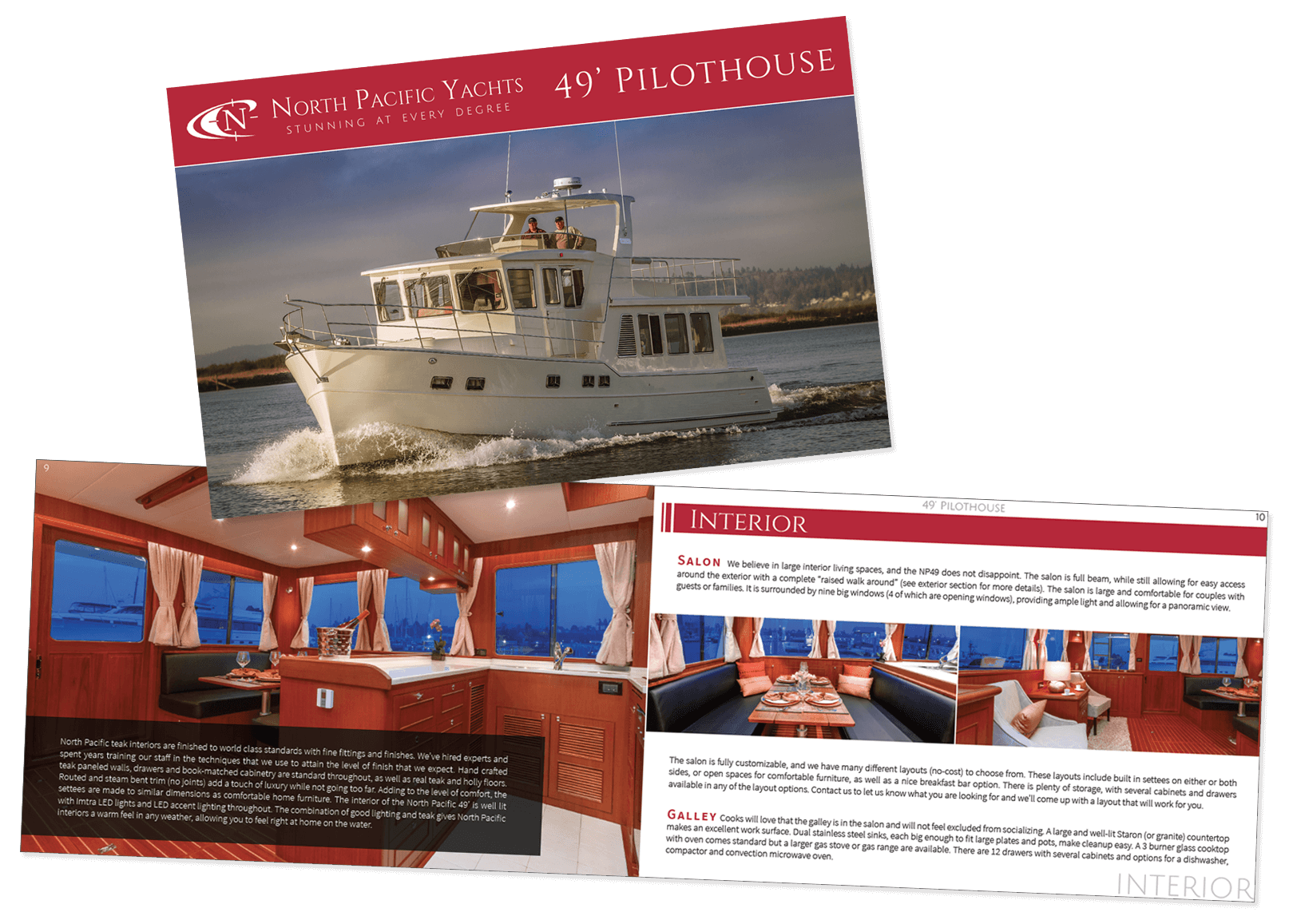 North Pacific Yachts Print Booklet