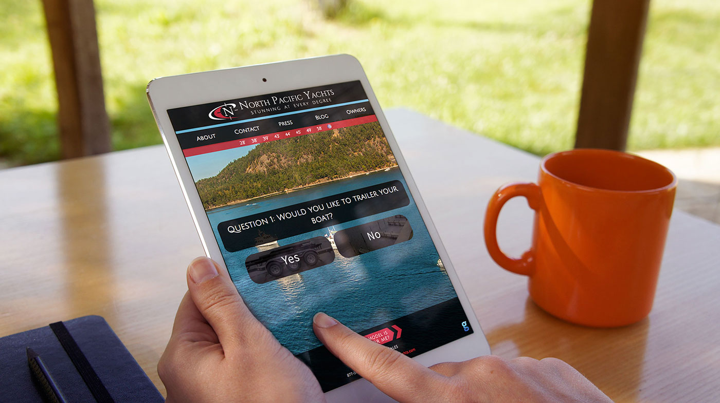 North Pacific Yachts Website Quiz